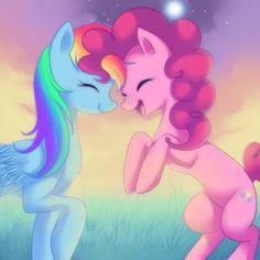Rainbow Dash and Pinkie Pie