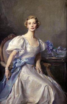 Portrait of Cecile Rankin - Philip Alexius de Laszlo
