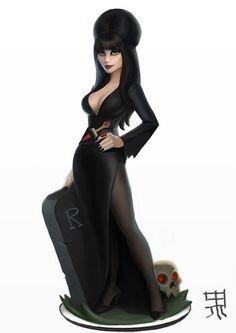 Elvira in Disney Infinity style by PapaNinja on DeviantArt
