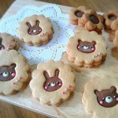 Idea: galleticas asi de ovejitas para gaby