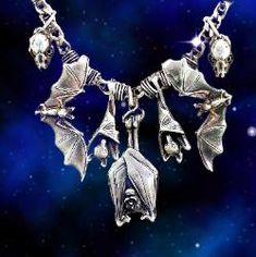 I would love this necklace from ^^._.^^ The Bat Cave ^^._.^^