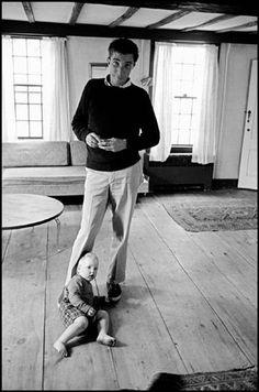 John Updike by Dennis Stock - 1962