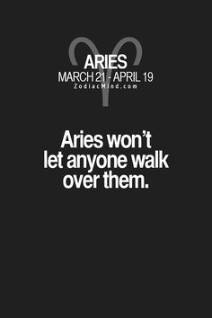 Aries - That's my girl