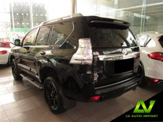 Toyota Land Cruiser Prado 3.0 Diesel (Limited Edition)  Exterior : Black  Interior : Ivory