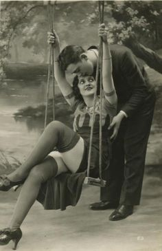 1920s stockings swing
