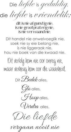 Faith Quotes, Bible Quotes, Bible Verses, Me Quotes, Happy Wedding Wishes, Forever Love Quotes, Afrikaanse Quotes, Bible Prayers, Special Quotes