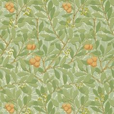 The Original Morris & Co - Arts and crafts, fabrics and wallpaper designs by William Morris & Company   Products   British/UK Fabrics and Wallpapers   Arbutus (DJA1A7103)   Morris Wallpaper Collection