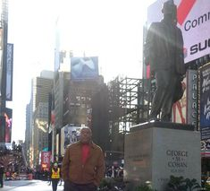Time Square George M Cohan, Times Square, Travel, Voyage, Trips, Viajes, Destinations, Traveling