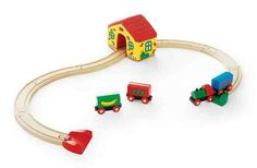 My first train set from Brio