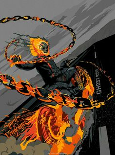 Ghost Rider Comic Book Characters, Comic Character, Comic Books Art, Comic Art, Hq Marvel, Marvel Comics Art, Marvel Heroes, Captain Marvel, Blue Ghost Rider