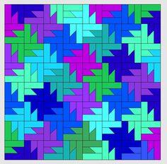 Nähanleitung Tessellationmuster Mehr