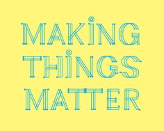 Making Things - annthology