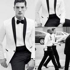2015 Dh Slim Fit One Button White Groom Tuxedos Men Tuxedo Suit Shawl Collar Groomsmen Best Man Men Wedding Suits Jacket +Pant Suit Double Breasted Suit From Kissyou_zhao, $52.59| Dhgate.Com