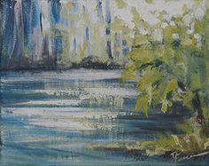 - Along the River  by Deborah Ferree. Original available through my Etsy website.  DeborahFerreeArtCafe.