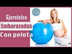 Ejercicios para embarazadas con pelota de Pilates   Corine Pieri 86440fc669b4