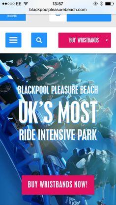 Booking a random weekend to Blackpool