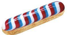 Fauchon propose un éclair Bleu Blanc Rouge pour le 14 juillet !