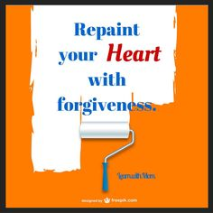 Repaint your Heart with forgiveness #marketinggemblog #learnwithmom #forgiveness #Lenten #love