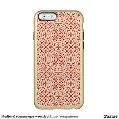 Medieval romanesque wreath of leaves incipio feather® shine iPhone 6 case