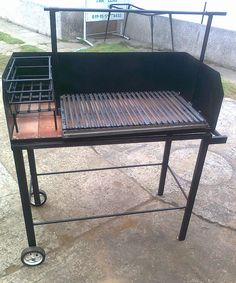 en #Soriana venden asadores muy buenos Grill Hut, Fire Pit Grill, Outdoor Oven, Outdoor Cooking, Trailer Grill, Parrilla Exterior, Brick Grill, Window Grill Design Modern, Custom Bbq Pits
