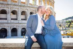 Asking the BIG question overlooking the city of Rome from a distance candidly photographed by the Andrea Matone Photography studio Romantic Photos, Romantic Couples, Wedding Couples, Surprise Engagement, Surprise Wedding, Couple Posing, Couple Photos, Rome City, Wedding Proposals