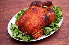 Tandoori Roast Chicken. Amazing flavors of Indian Tandoori Chicken, easy enough to make in your own kitchen.