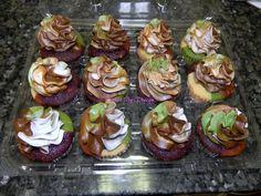 Camoflauge cupcakes