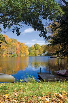 What a glorious view from a lake house