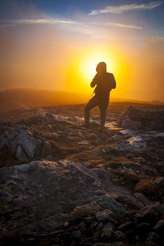 Wschód Słońca na Babiej Górze / Sunset in Polish Mountains,