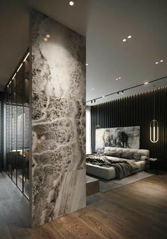 Modern Luxury Bedroom, Luxury Bedroom Design, Master Bedroom Design, Luxurious Bedrooms, Home Decor Bedroom, Home Interior Design, Contemporary Bedroom, 50s Bedroom, Quirky Bedroom