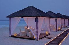 TOP 5 Luxury Restaurants in Cancun: Casitas by Ritz Carlton Cancun     One of the best luxury and romantic diner experiences in Cancun. Casitas by Ritz Carlton Cancun is an experience that you should live when having vacations in Cancun.     Do you want to know more about Luxury Travel in Cancun? Click here : http://mayanexplore.com/menu.php?m=24
