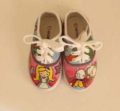 Adorable! Alice's Adventures in Wonderland Shoes