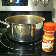 Boil cinnamon to kill bad kitchen odors. OMG! Cheapest way to make your house smell amazing!
