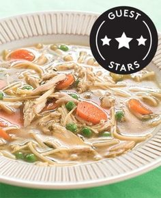 Stay in tonight and warm up with this easy, grown-up chicken soup recipe