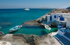 Kymolos islands, Cyclades, www. Island Pictures, Ocean Pictures, Ocean Pics, Beautiful Buildings, Beautiful Places, Greece Islands, Athens Greece, Vacation Places, Vacations