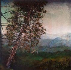 Joan Nelson (American, b. 1958), #743, 2011. Acrylic, oil, gouache, ink, spray paint, dry pigment on wood panel