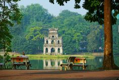 """See 3234 photos and 190 tips from 10660 visitors to Hồ Hoàn Kiếm (Hoan Kiem Lake). """"Must go place in Hanoi,nice view,should try to walk around the. Vietnam Tours, North Vietnam, Hanoi Vietnam, Vietnam Travel, Hanoi Old Quarter, Vietnam Holidays, Belle Villa, Famous Places, Beautiful Places In The World"""