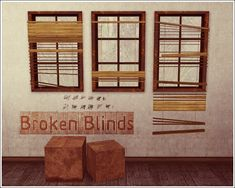 club_crimsyn | Broken Blinds - Converted From TS2 (find these for TS2)