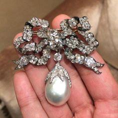 Fine Jewelry Beautiful Bella Antiguos Broche __ Plata 925 Dorada __ Broche __
