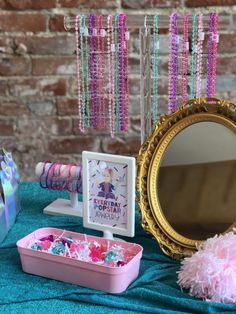 Carolyne's Jojo Siwa Party - Project Nursery 7th Birthday Party Ideas, Barbie Birthday Party, Birthday Activities, Spa Birthday, Barbie Party, Kids Party Themes, Frozen Birthday Party, Birthday Party Favors, Jojo Siwa Birthday Cake