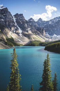 Moraine Lake, Banff National Park, Canada | by Riley Found
