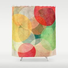 The+Round+Ones+Shower+Curtain+by+Anai+Greog+-+$68.00