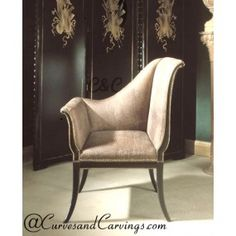 Curves & Carvings Classic Collection Chair - C&C CHAIR0044
