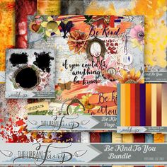 Personal Use :: Bundled Deals :: Be Kind To You { Collection }