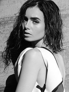 Lily Collins pictures for Malibu Magazine December 2016 photographed by Mark Squires
