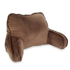 Plush Backrest Pillow - Bed Bath & Beyond