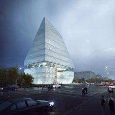 Gallery of TheeAe Releases Proposal for Varna Regional Library in Bulgaria - 1