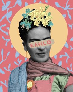 New Ideas Wall Collage Art Artists Frida Kahlo Portraits, Kahlo Paintings, Frida Art, Diego Rivera, Mexican Art, Psychedelic Art, Wall Collage, Art Inspo, Design Art