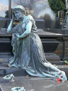 Auf dem Wiener Zentralfriedhof entdeckt.