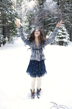 Sarah Tamagni Photography.  Amazing senior photo shoot in the snow.  Check it out! @Sarah Tamagni